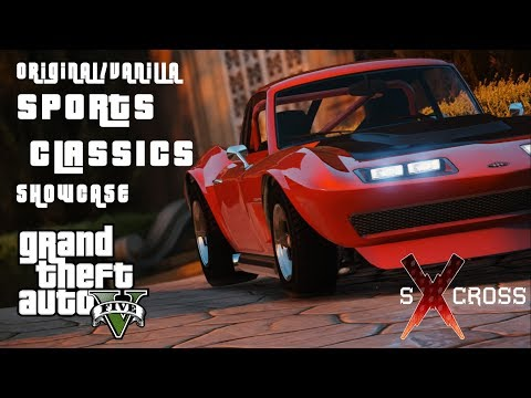 GTA 5 Original/Vanilla Sports Classics Cinematic Showcase || Redux