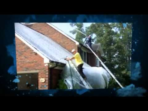 Soft Wash Wizard Roof Cleaning Using A Safe And Effective
