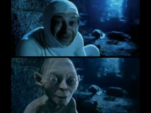Andy Serkis In Lord Of The Rings