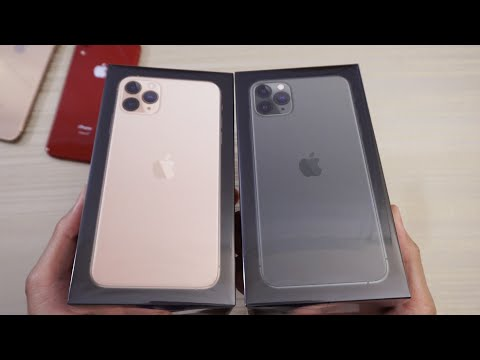 IPhone 11 Pro Max UNBOXING! Midnight Green And Gold!