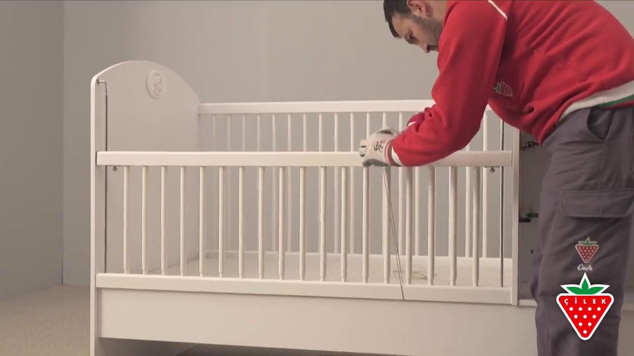 57ccc493912 Οδηγός μοντασίσματος Βρεφική κούνια Baby Cotton | www.cilek.gr - YouTube