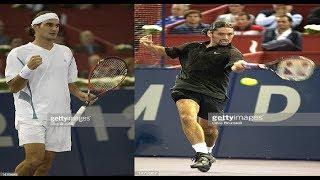 Marcelo Ríos vs Roger Federer Madrid 2002 Highlights HD