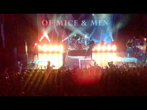 OF MICE & MEN - FULL CONCERT & ENCORE. O2 FORUM KENTISH TOWN, LONDON. 07 OCT 2016
