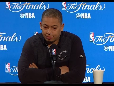NBA FINALS: Cavs Coach Tyronn Lue On Finals Rematch, Mike Brown And Golden State Warriors