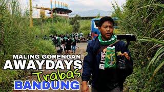 Vlog Awaydays Terbang ke Bandung | Pertemuan Bonek dan Viking di Stadion si Jalak Harupat