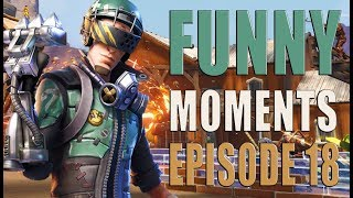 Funny And Lucky Moments - Fortnite Battle Royale - Ep.18