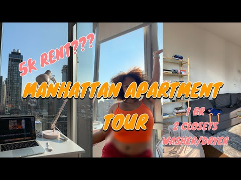 LUXURY MANHATTAN APARTMENT TOUR (NYC) | Britt Nicole thumbnail