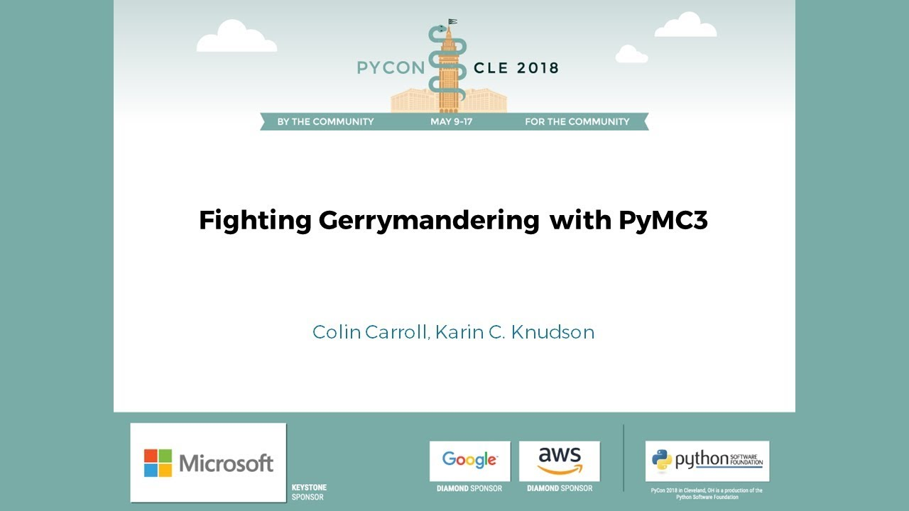 Image from Fighting Gerrymandering with PyMC3