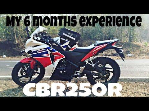 CBR250R | My 6 months Experience, Servicing update, Helmet Info | Vlog