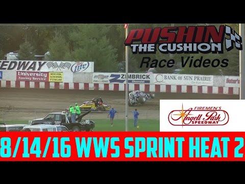 8/14/16 Angell Park Speedway WWS Sprint Heat 2
