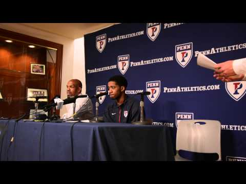 Jerome Allen Press Conference after win over Cornell 3/7/15