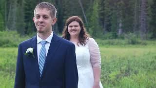 Amber + Weston - Utah Wedding First Look