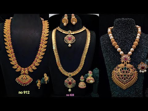 Exclusive Designer 1 Gram Gold Jewellery Designs Part 71
