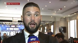 "Tony Bellew: ""Usyk hasn't come across anyone like me. A lunatic who believes in himself!"""