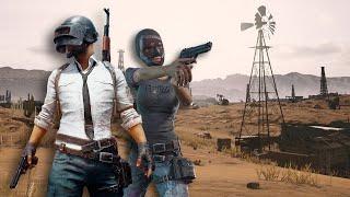 10 Minutes of PUBG's New Desert Map Gameplay (1080p 60fps)