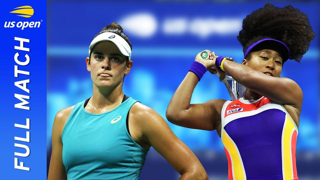 US Open 2021: Naomi Osaka beats Marie Bouzkova after dominant ...