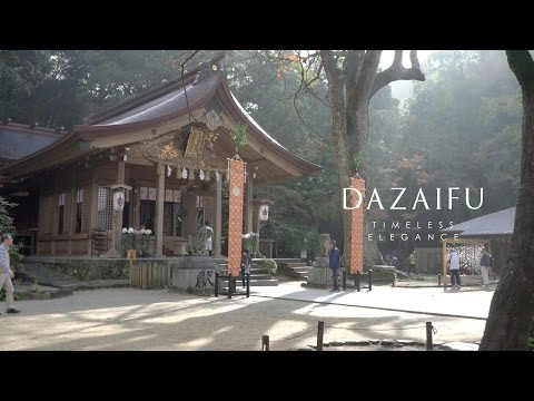 Dazaifu, Japan 4K (Ultra HD) - 太宰府 Autumn Winter