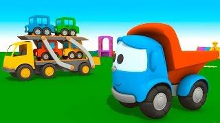 Новый 3D мультфильм про машинки. Грузовичок Лёва малыш и АВТОВОЗ