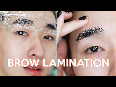 I Laminated My Brows At Home... For $20 And It Worked(?)