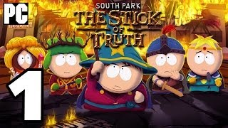 South Park: The Stick of Truth Walkthrough PART 1 (PC) No Commentary TRUE-HD QUALITY
