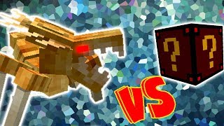 ALIENIGENAS VS. LUCKY BLOCK SPOOKY (MINECRAFT LUCKY BLOCK CHALLENGE ALIEN BUG)