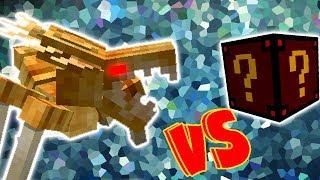 ALIENIGENAS VS. LUCKY BLOCK SPOOKY (MINECRAFT LUCKY BLOCK CHALLENGE ALIEN BUG)