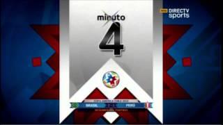 Copa América 2015: Brasil 2 vs Perú 1 - Resumen del partido