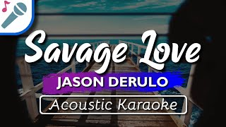 "Karaoke ✔ ""savage love"" is a brand new song by jason derulo & jawsh 685 that was released june 2020. enjoy and singalong with our acoustic version of..."