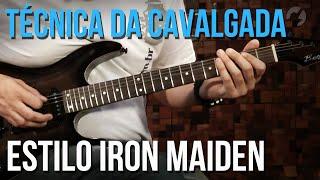 COMO FAZER A TÉCNICA DA CAVALGADA (IRON MAIDEN)