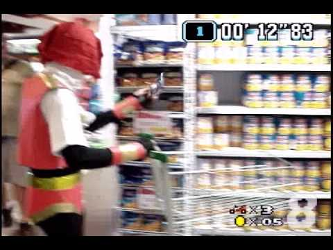 Jiraya vai ao supermercado [Mario Kart]