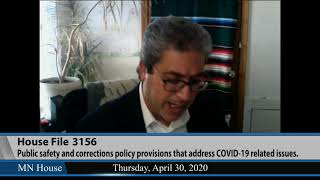 House Public Safety and Criminal Justice Reform Fin. and Pol. Division (Remote Hearing)  4/30/20