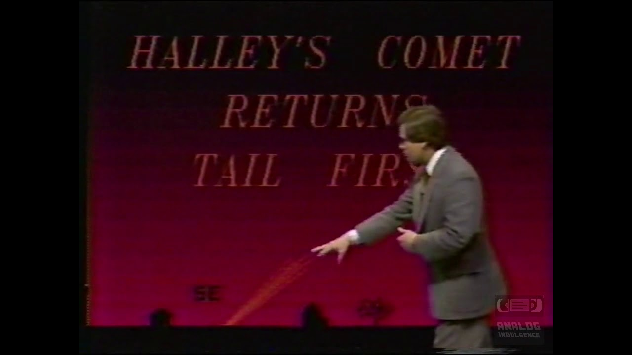 Weather Whys   WAFF 48   Promo   1986   Haley's Comet Returns