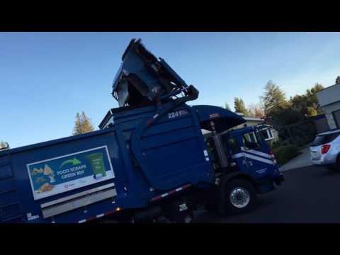 Recycling Garbage Truck 12-27-16