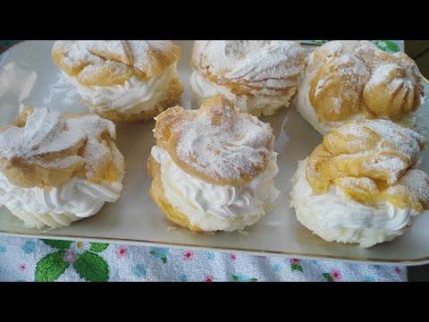 Bakina kuhinja- princes krofne (filled donuts)