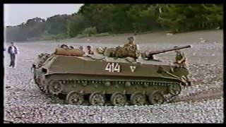 345 ОПДП Абхазия.  Гуманитарка в Ткварчели 1 1993г