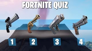 GUESS THE WEAPON WITHIN SOUND IN FORTNITE | Ultimate Fortnite Quiz #6