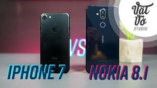 So sánh Nokia 8.1 vs iPhone 7