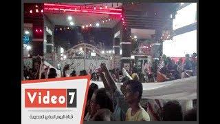 شاهد أطول علم للزمالك اثناء الاحتفال بكأس مصر فى القلعة البيضاء