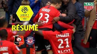 Stade Rennais FC - Toulouse FC ( 3-2 ) - Résumé - (SRFC - TFC) / 2019-20
