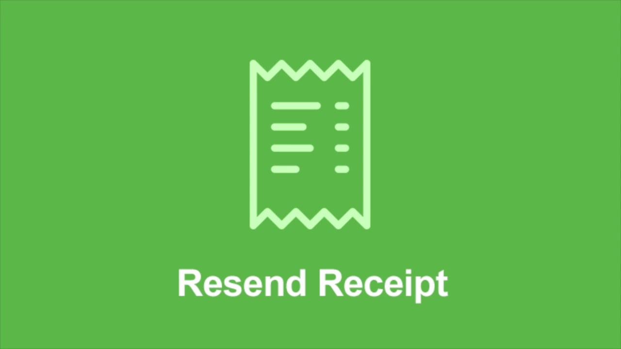 Resend Receipt - Easy Digital Downloads