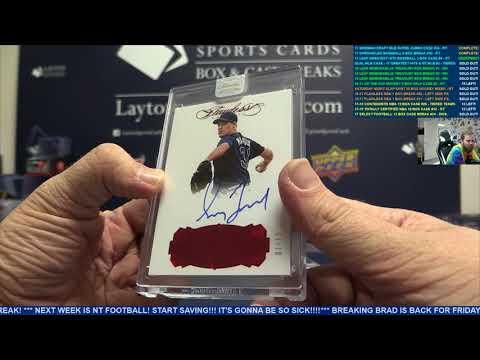 2017 Leaf Greatest Hits Baseball 3 Box Case Break #4 – RANDOM TEAMS