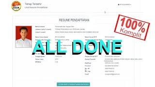 Download Video #ALLDONE Tahap Pendaftaran Online SSCN BKN 2018 Selesai MP3 3GP MP4