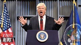 Alec Baldwin Returning to Trump Role on 'Saturday Night Live'   THR News