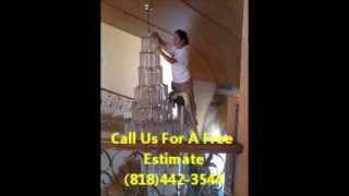 Chandelier Cleaning