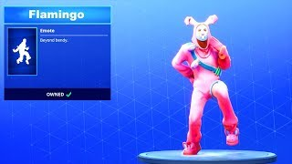 FLAMINGO SONG on *NEW* DANCE EMOTE!! Fortnite Battle Royale