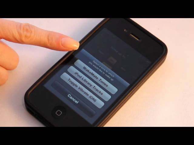 How to use Wakemate with  iOS