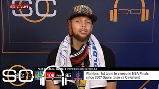 Stephen Curry: There was 'nothing easy about' Warriors winning 2018 NBA title | SC with SVP | ESPN