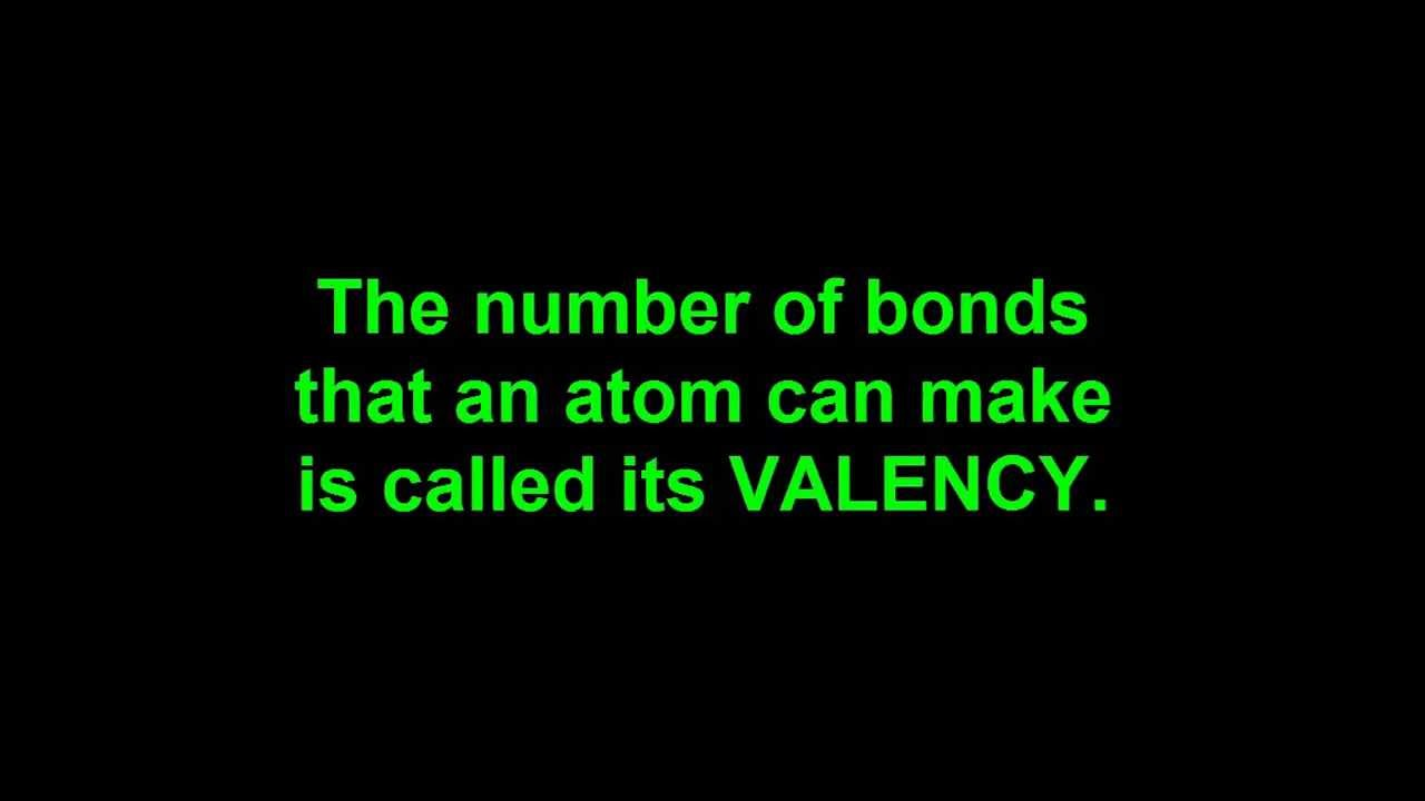 8.2 How oxygen, nitrogen and carbon make covalent bonds. - YouTube