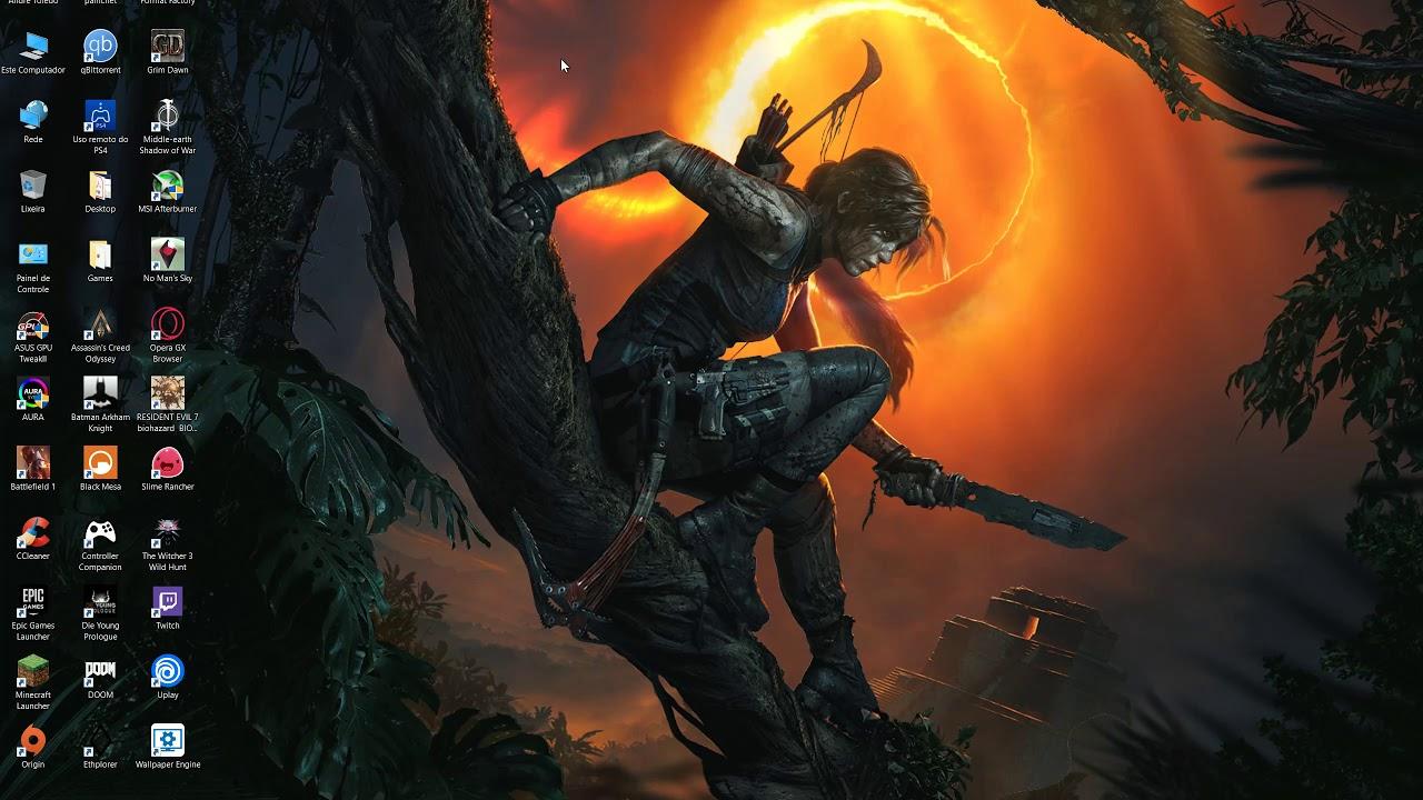 Shadow Of The Tomb Raider Desktop Animated Wallpaper Youtube