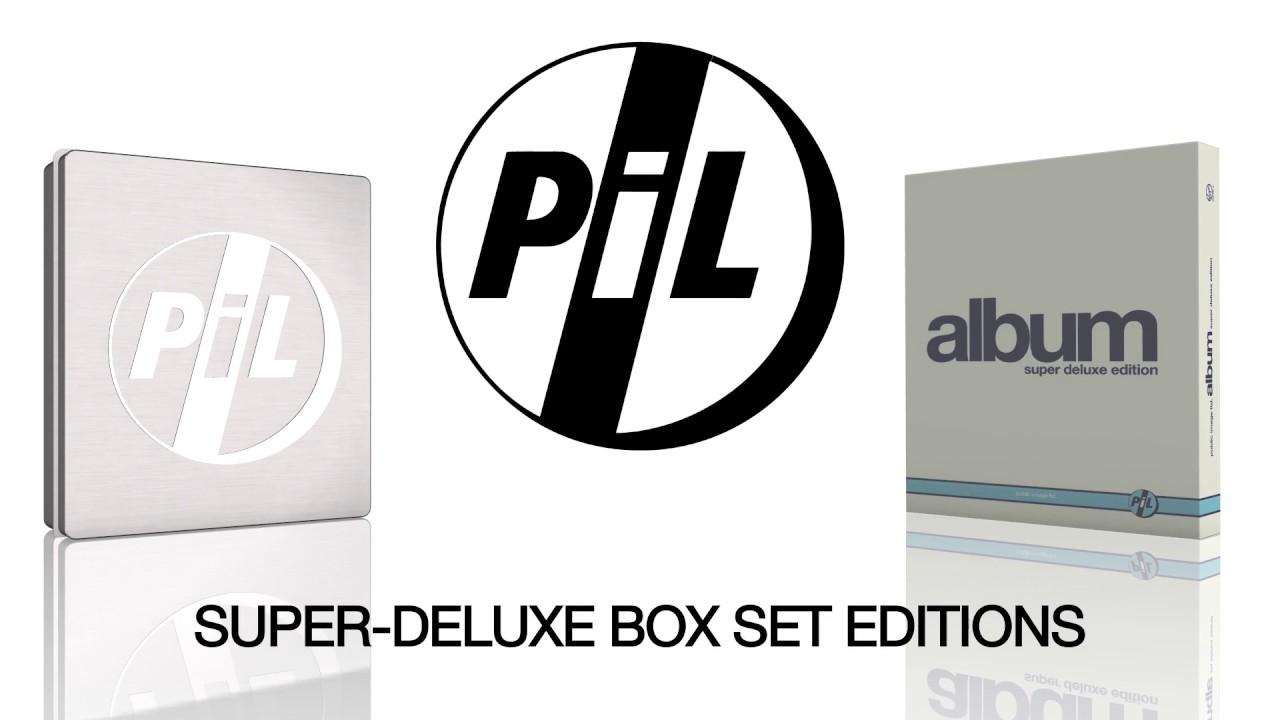 PiL: Album & Metal Box super-deluxe box sets (official unboxing video v2)